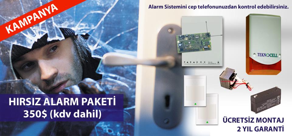 Bodrum Hırsız Alarm Sistemi