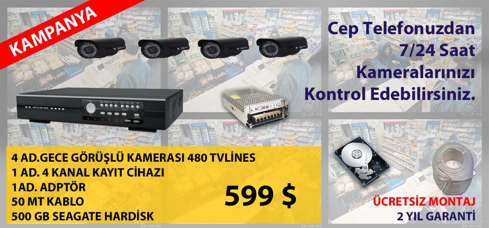 Bodrum Güvenlik Kamera Sistemi